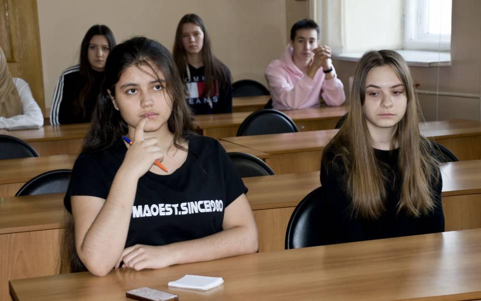 Мастер-класс для школьных 9-ых и11-ых классов