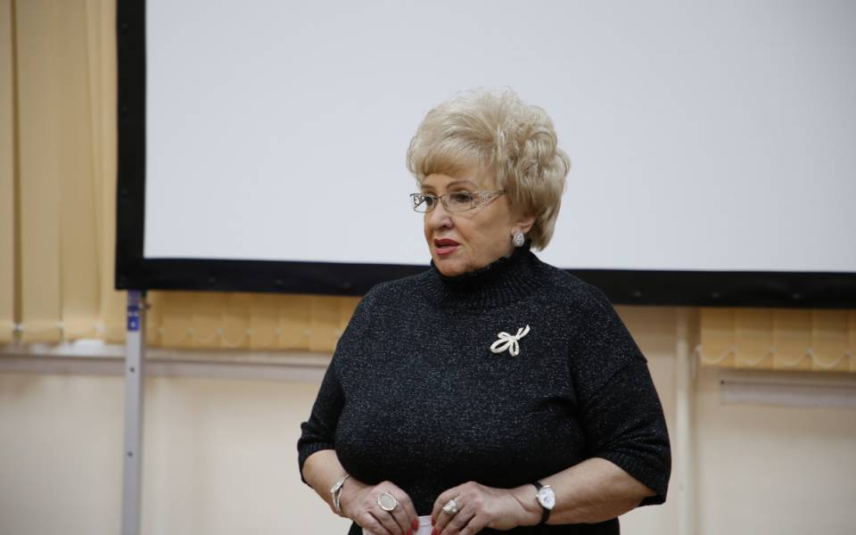 Ректор «ТИСБИ» Нэлла Прусс