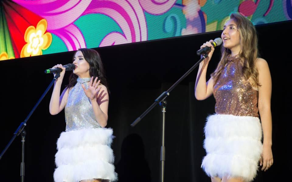 Вокальный номер фестиваля «Весенняя капель» отстуденток ФСПО «ТИСБИ»