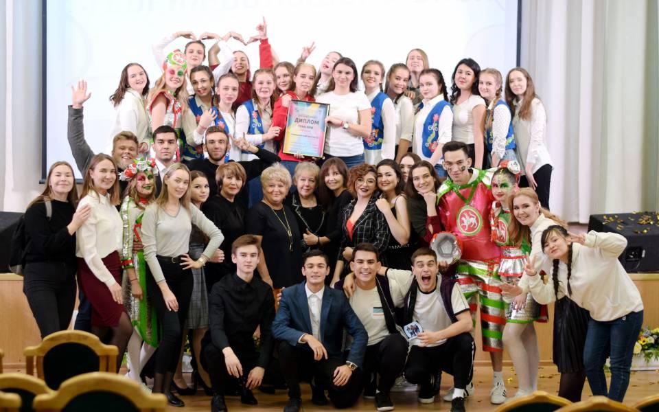 Обладатели гран-при внутривозвоского фестиваля «День первокурсника» 2019