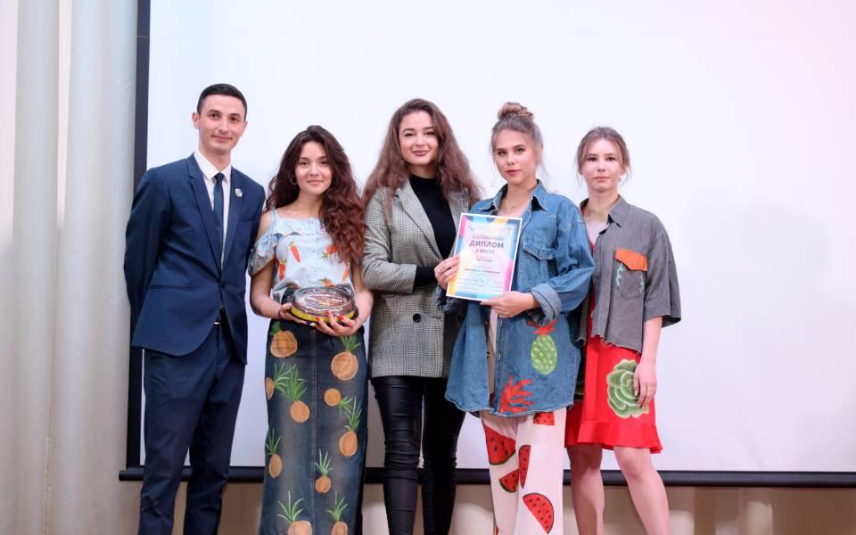 Награждение факультета управления вноминации «Театр моды»