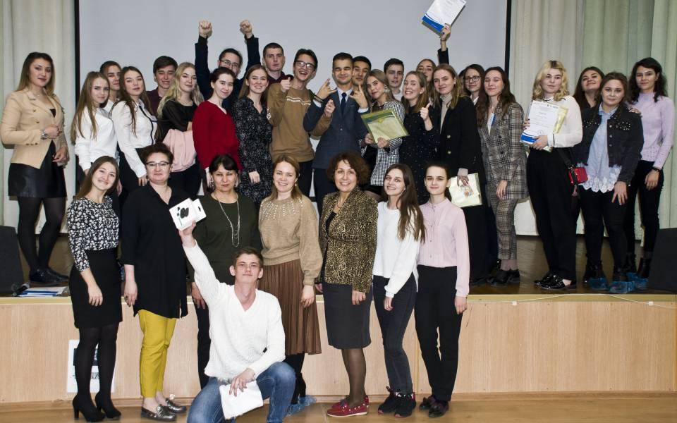 Участники иорганизаторы ярмарки бизнес-проектов