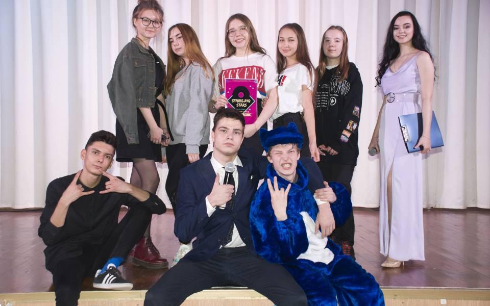 Участники конкурса Sparkling Stars— 2019
