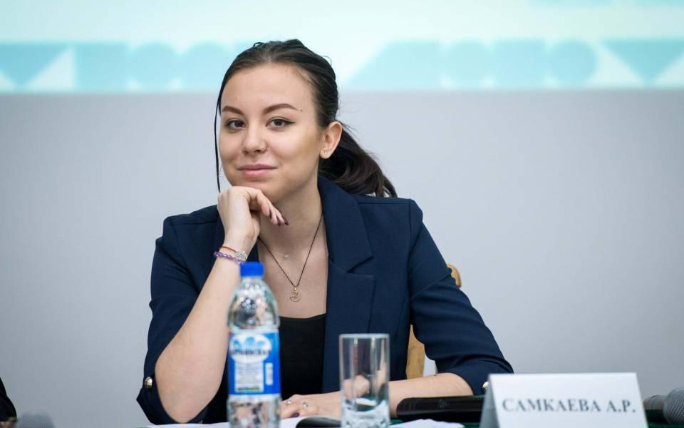 Председатель студенческого совета ТИСБИ Альфия Самкаева