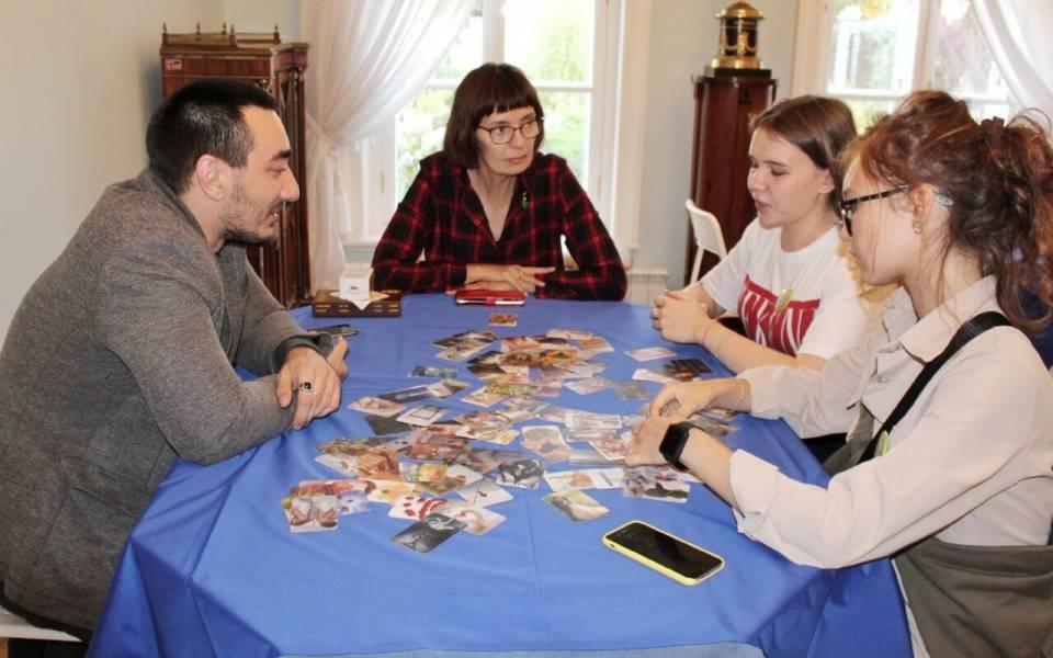 Студенты ФСПО проводят игры вмузее Боратынского