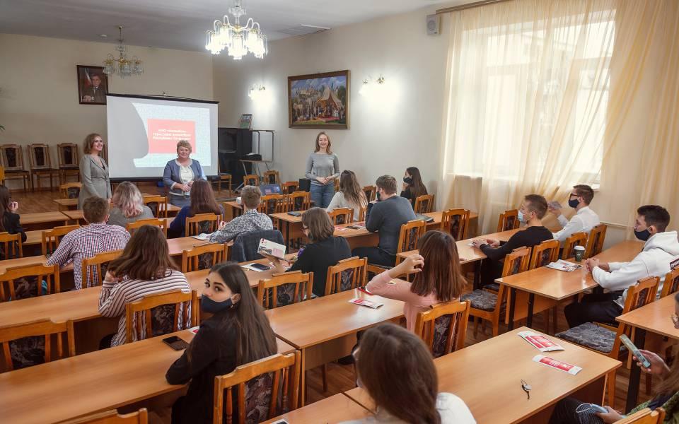 Встреча первокурсников сАссамблеей туристских волонтеров