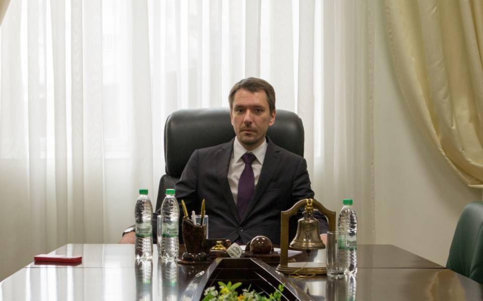 Ведущий мастер-класса Максим Нурмиев, судья Верховного Суда Республики Татарстан