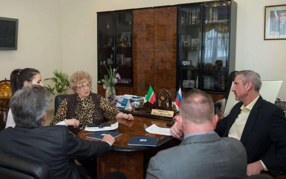 Встреча руководства университетов Потомак, Woz-U и«ТИСБИ»