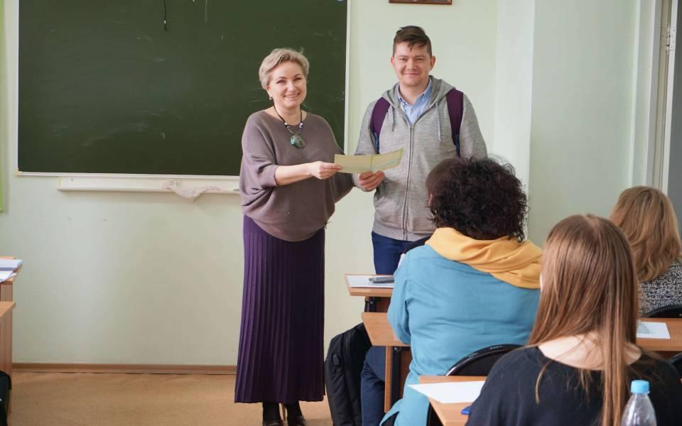 Вручение сертификатов оповышении квалификации