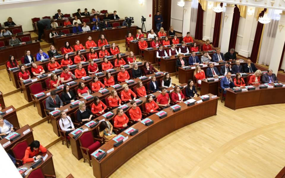 Участники Ассамблеи туристских волонтёровРТ