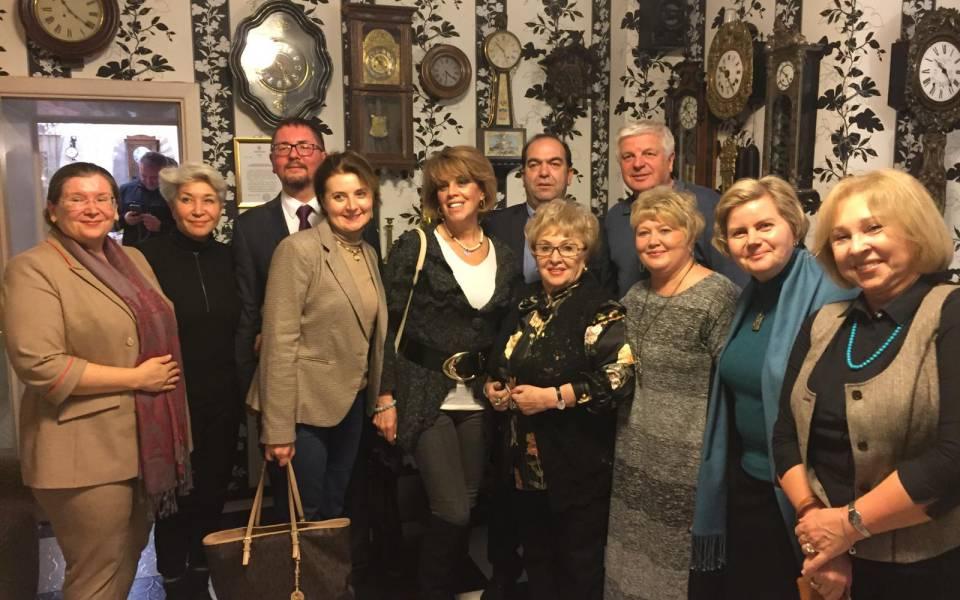 Участники заседания Координационного комитета кафедр ЮНЕСКО России