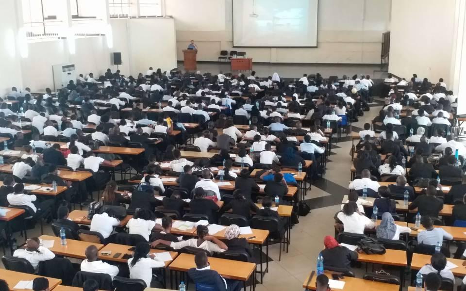 Лекция вГосударственной Школе права Танзании