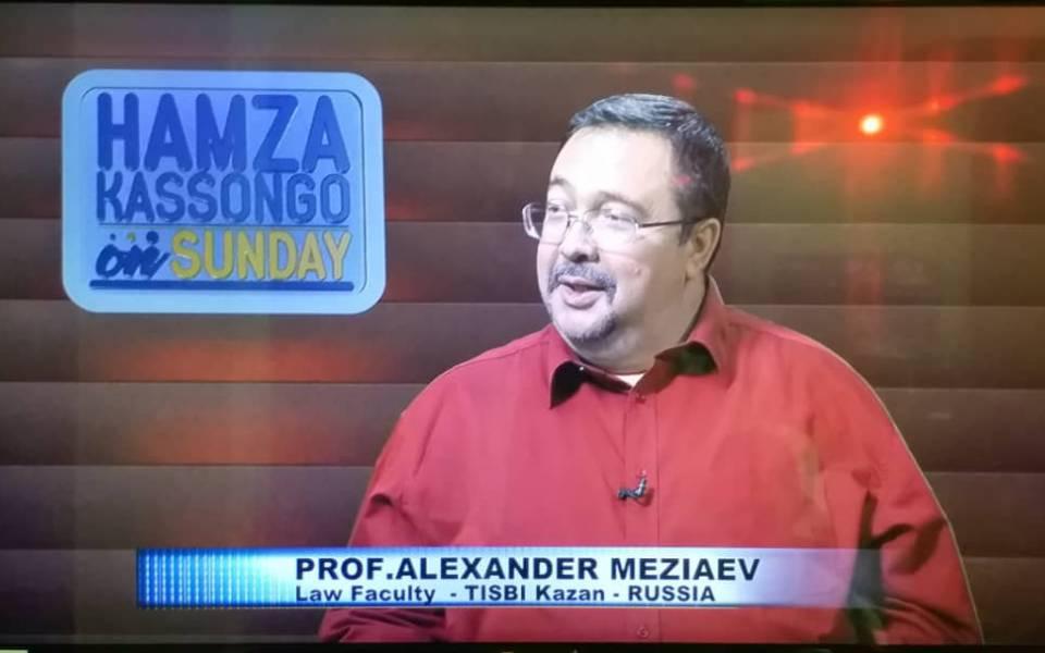 Интервью телеканалу eTV